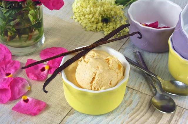 Ketone ice cream